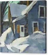 Laura's House Canvas Print