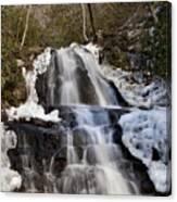 Laurel Falls In Gatlinburg Tennessee Canvas Print