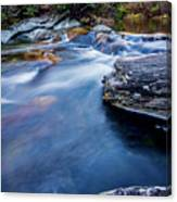 Laurel Flat, Nc - Waterfall Canvas Print