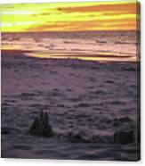 Lauren's Sandcastle Canvas Print