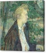 lautrec gabrielle 1891 Henri De Toulouse-Lautrec Canvas Print