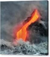 Lava Torrent Canvas Print