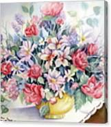 Lavendar And Lace Canvas Print