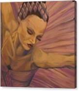 Lavendar Ballet Canvas Print