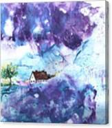 Lavendar Fields Canvas Print