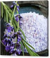 Lavender Bath Salts Canvas Print