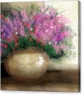 Lavender Bouquet Canvas Print