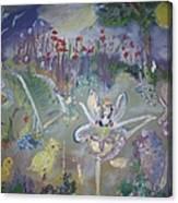 Lavender Fairies Canvas Print
