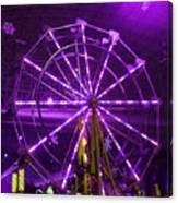 Lavender Ferris Wheel Canvas Print