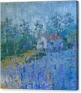 Lavender Field Provence Canvas Print