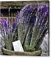 Lavender For Sale Canvas Print