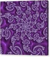 Lavender Fractal  Canvas Print