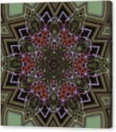 Lavender Mandala Canvas Print