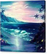 Lavender Night  Canvas Print
