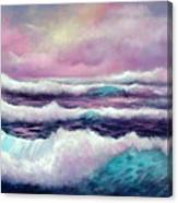 Lavender Sea Canvas Print
