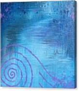 Lavender Spiral  Canvas Print