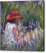 Lavender Treasure Canvas Print