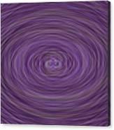 Lavender Vortex Canvas Print