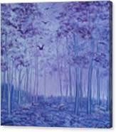 Lavender Woods Canvas Print