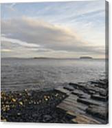 Lavernock Coast Canvas Print