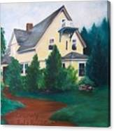 Lavern's Bed And Breakfast Canvas Print