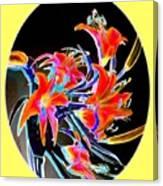 Lavish Lilies 2 Canvas Print
