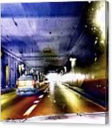 Lax Tunnel Canvas Print