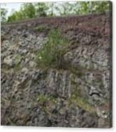 Layer Rocks 3 Canvas Print
