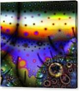 Layered Fractal World Canvas Print