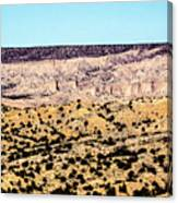 Layered Land Canvas Print