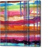 Layered Canvas Print