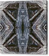 Layers Of Ice #1 - Mount Monadnock Canvas Print
