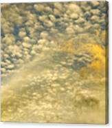 Layers Of Sky Canvas Print