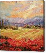 Layers of Tuscany  Canvas Print