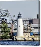 Lazaretto Point Lighthouse Canvas Print