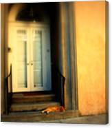 Lazy Afternoon At Kings Street In Charleston Sc Canvas Print