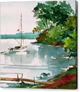 Lazy Cove Canvas Print