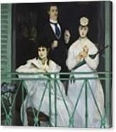 Le Balcon Canvas Print