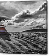 Le Camion Rouge Canvas Print