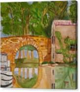 Le Canal Du Midi Canvas Print