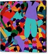 Le Carnaval Canvas Print