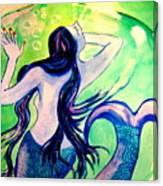 Le Cauchemar De La Sirene Canvas Print