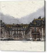 Le Chateau De Versailles Canvas Print