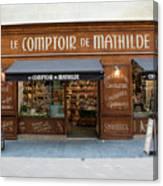 Le Comptoir De Mathilde Canvas Print