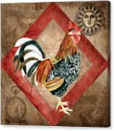 Le Coq - Greet The Day Canvas Print