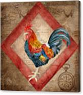 Le Coq - Timeless Rooster  Canvas Print