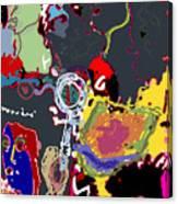 Le Femee Canvas Print