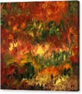 Le Feu Et La Vie 2 Canvas Print