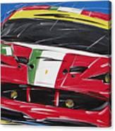 Le Mans Ferrari 458 Canvas Print