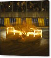 Le Mans On Fire Canvas Print